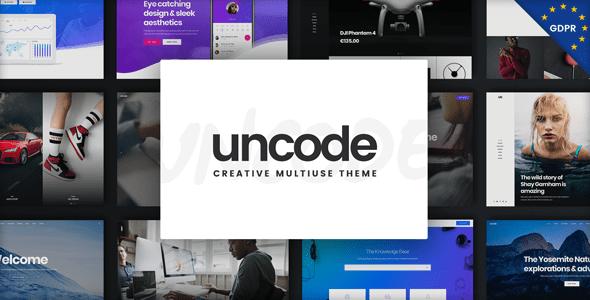 Uncode wordpress theme review 2019