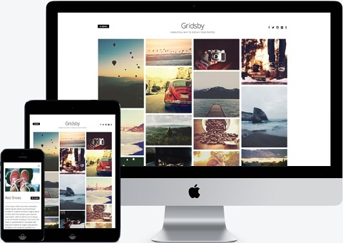 Gridsby Photo WordPress Free Theme