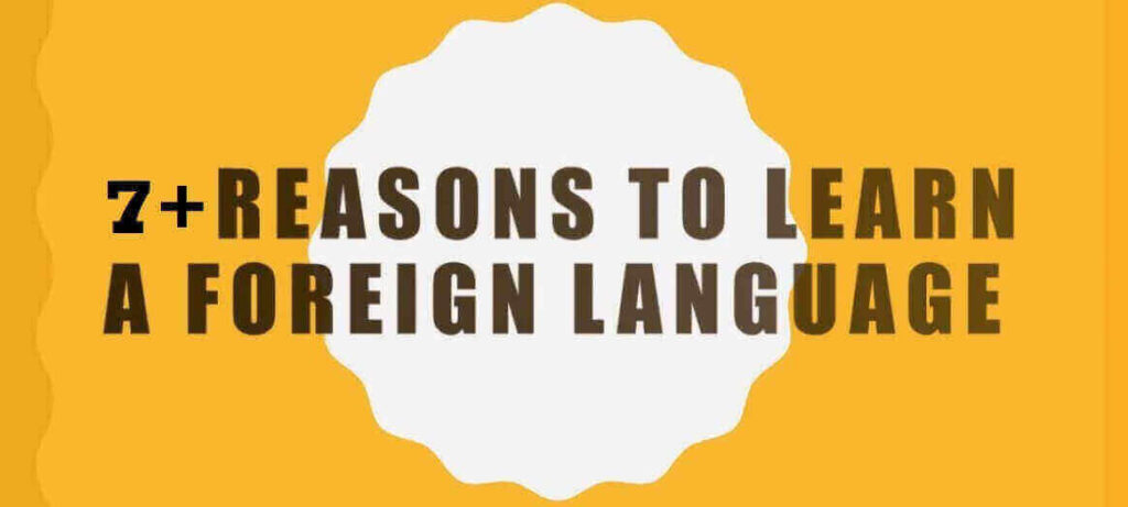 Why should you learn a new language.