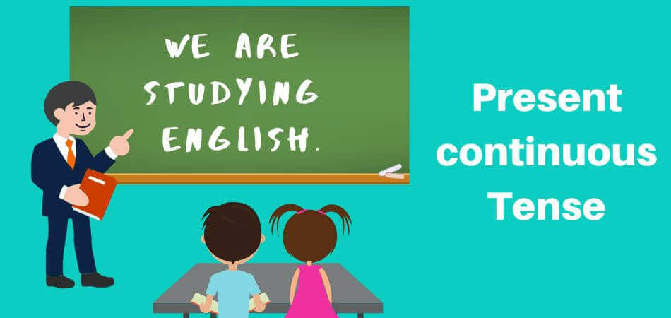 Present Continuous Tense - Explained by Pep Talk Radio (Gwalior)